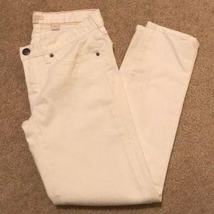J.Crew White Jeans